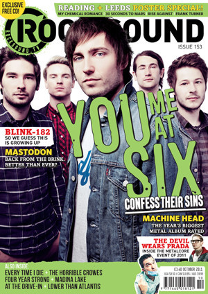 Rocksound - Issue 153 - October 11