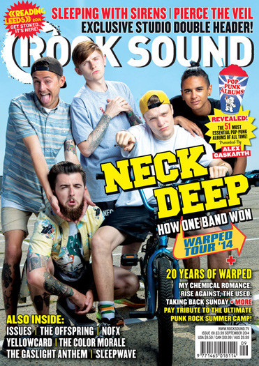 Rocksound - Issue 191 - September 2014