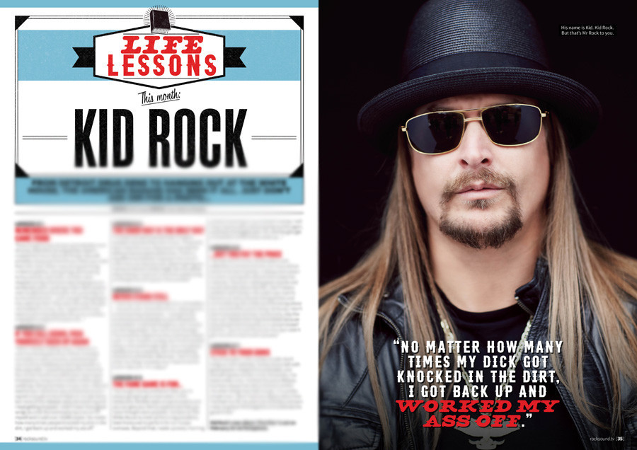 6 Things You Can Learn From Kid Rock. Yes, Really. - Features - Rock ...