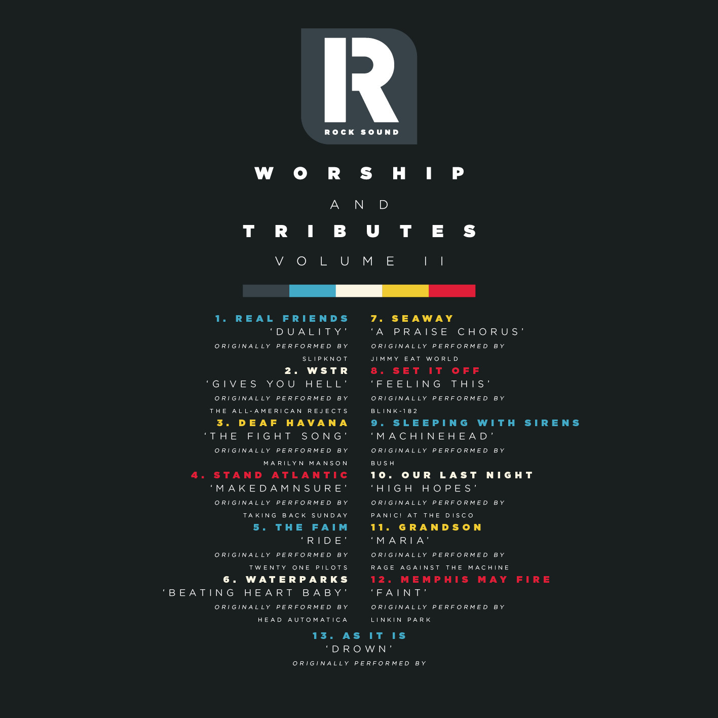 Pre-Order The Rock Sound 250 'Worship And Tributes' Covers Album NOW