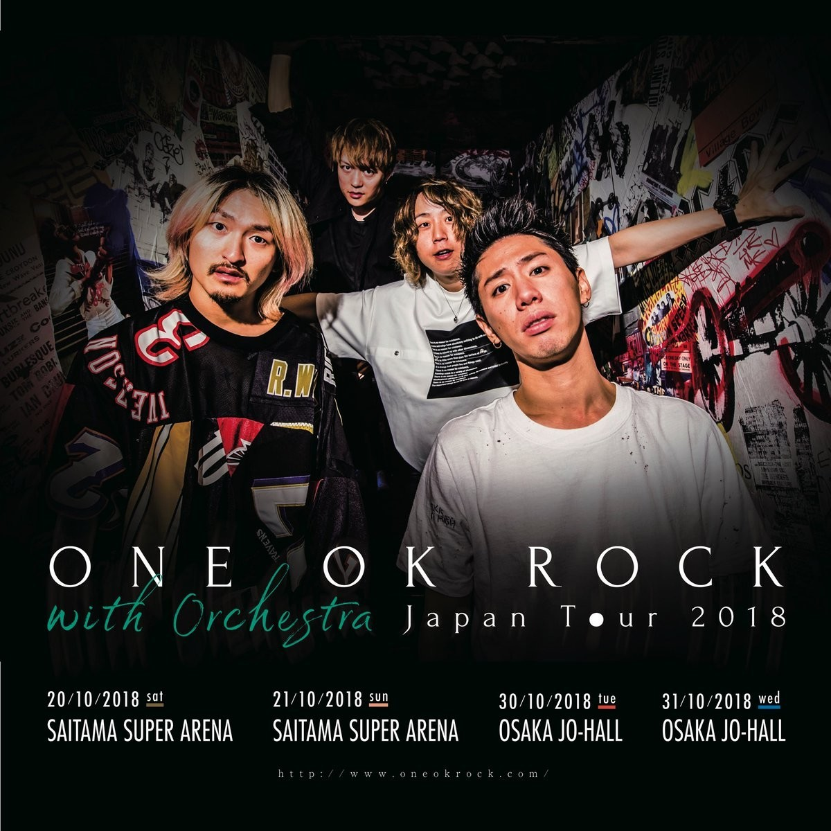 One Ok Rock Have Announced A Tour With An Orchestra News Rock