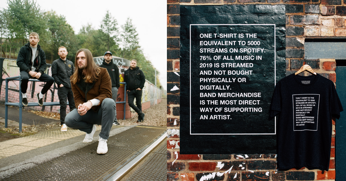 While She Sleeps Have Addressed The Value Of Streaming With