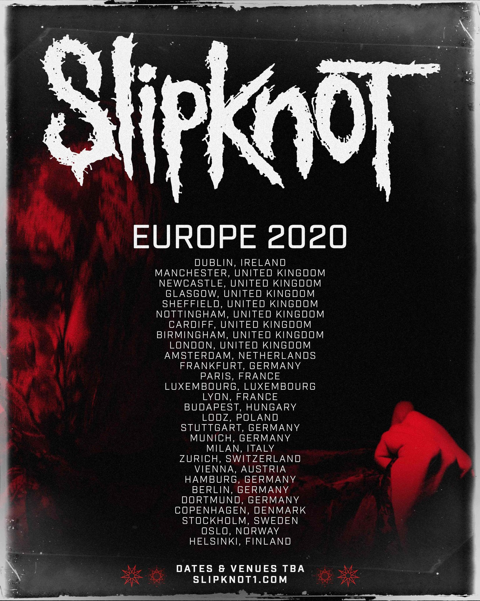 Panic At The Disco Tour 2020.Slipknot Have Announced The Cities They Re Touring In 2020