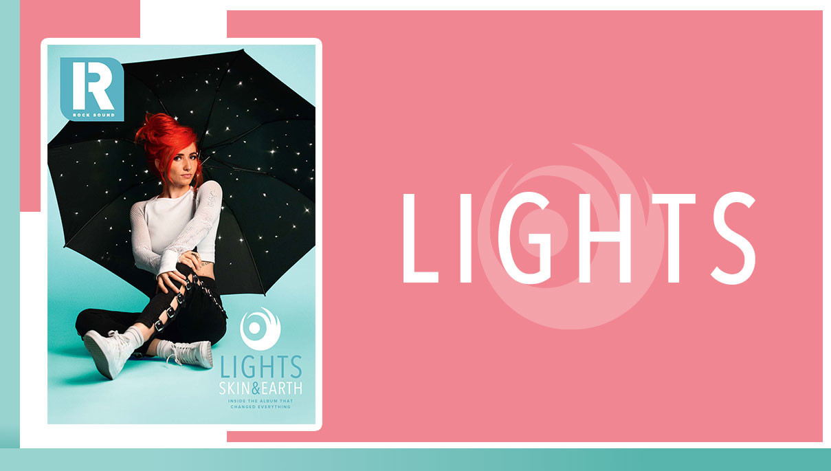 Lights: The Story Behind 'Skin & Earth' - Videos - Rock Sound Magazine