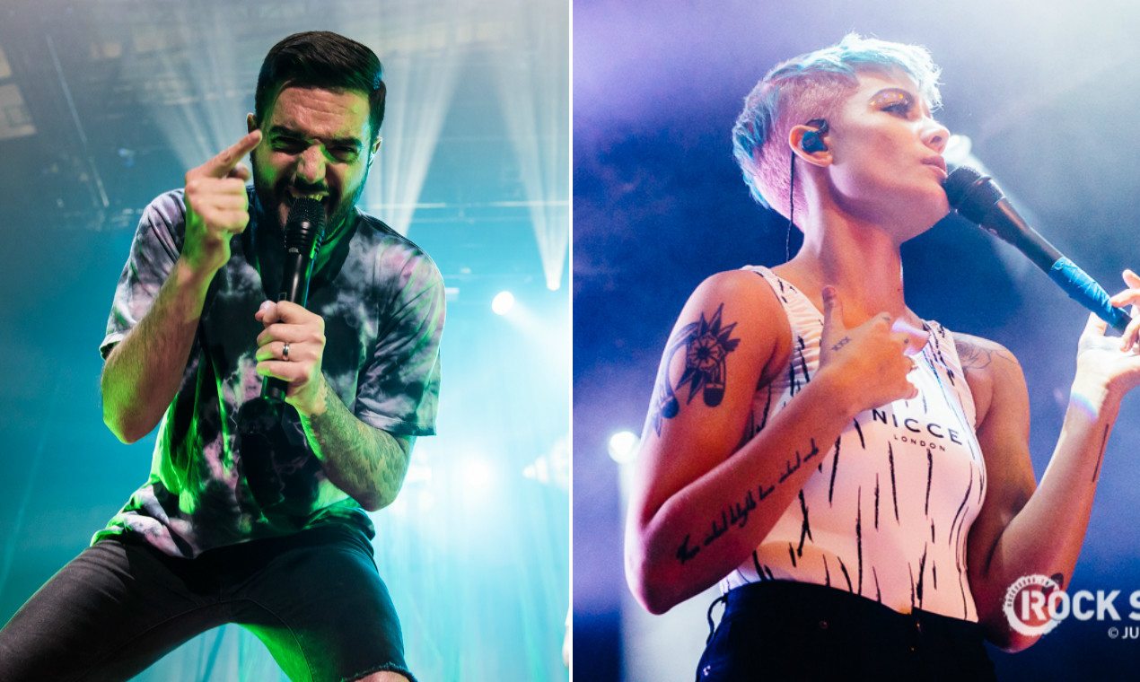 On The Verge Halsey: Listen To A Halsey X A Day To Remember Mash-Up.... : Rock