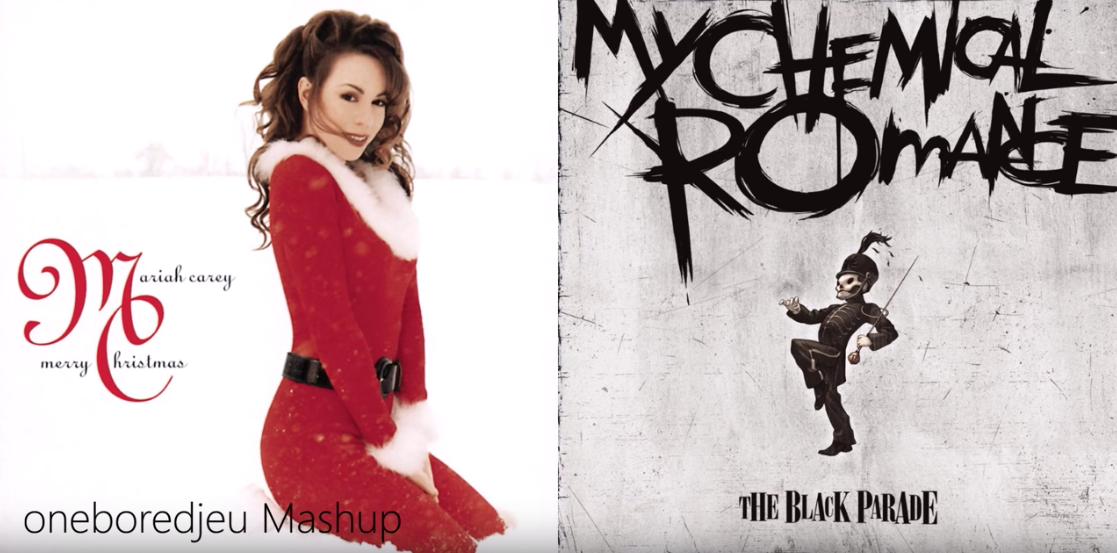 Get Festive With This Mashup Of 'all I Want For Christmas Is You' And 'welcome To The Black Parade'
