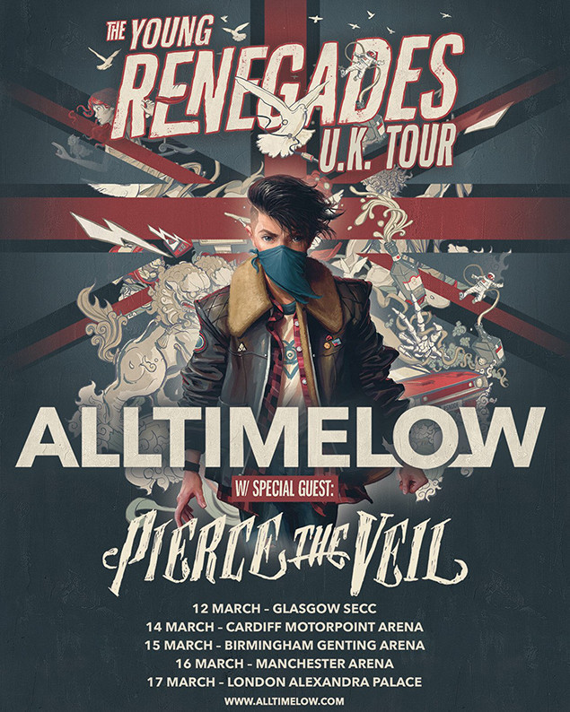 All Time Low Panic At The Disco Tour