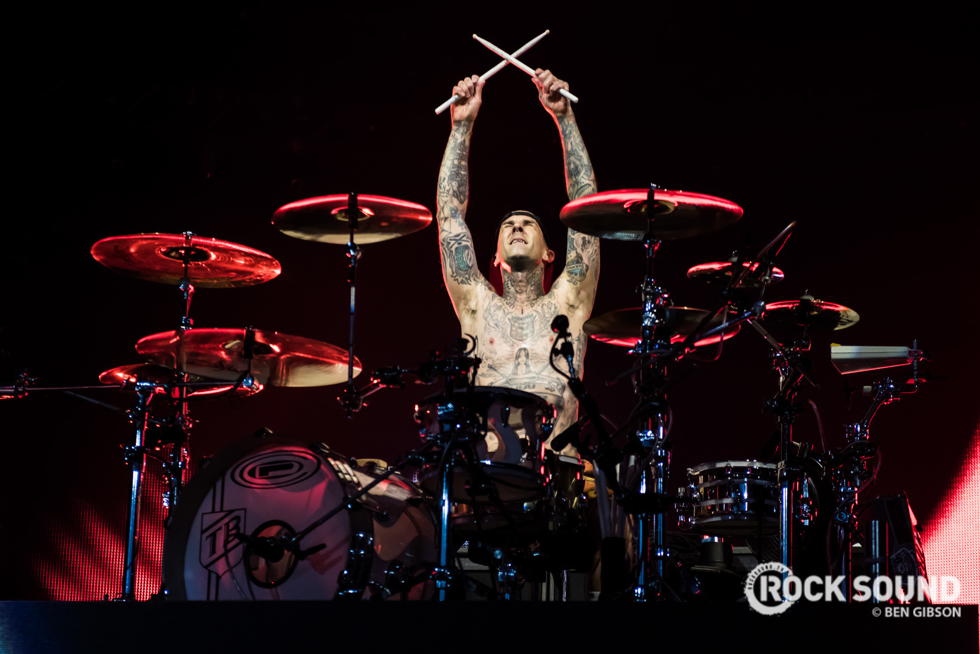 Here Are 11 Songs You Didn't Know Travis Barker Played Drums