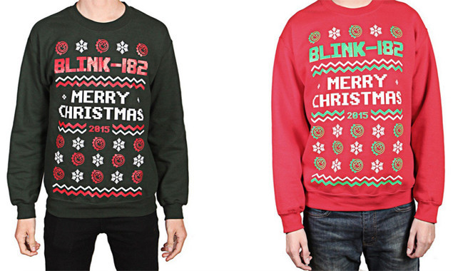 Blink 182 Provide The Perfect Presents With New Christmas Jumpers