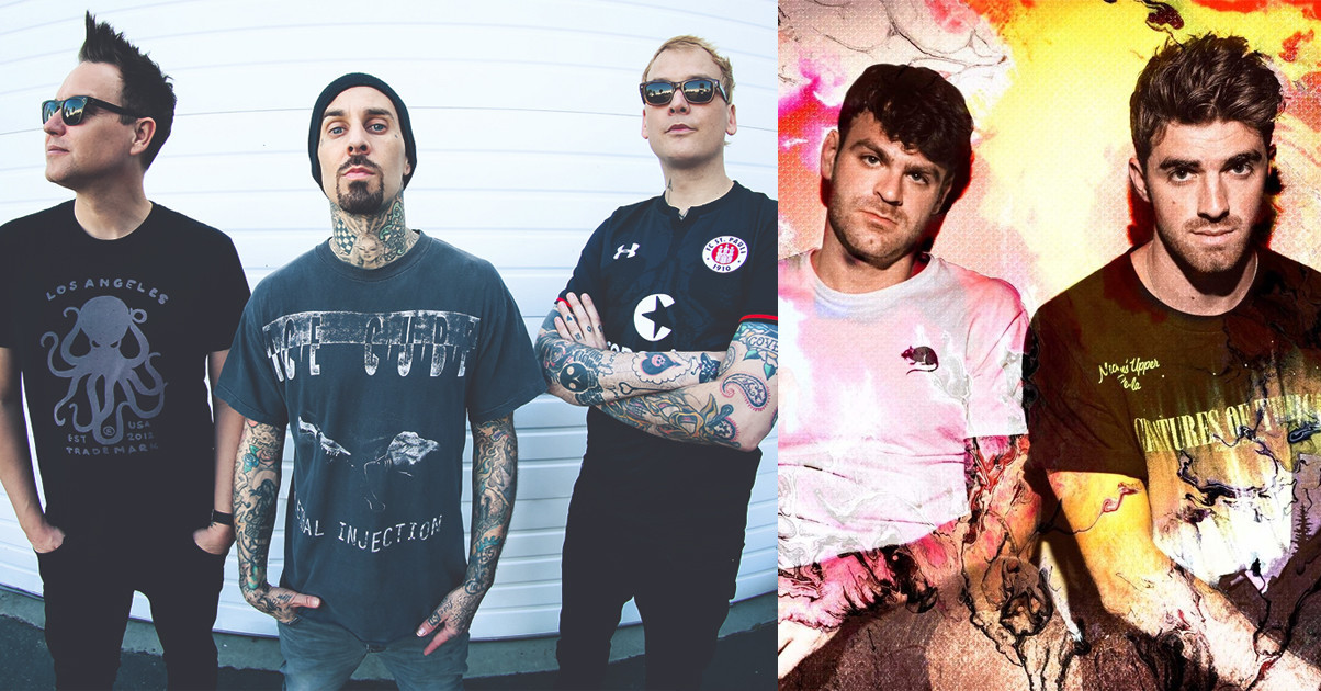 8a93e7764923 Blink-182 Have Written A Song With The Chainsmokers - News - Rock Sound  Magazine
