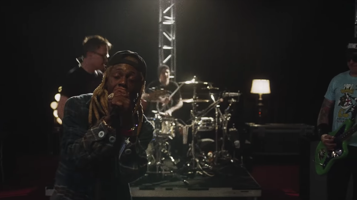Blink-182 + Lil Wayne Have Dropped A Mashup Of 'What's My