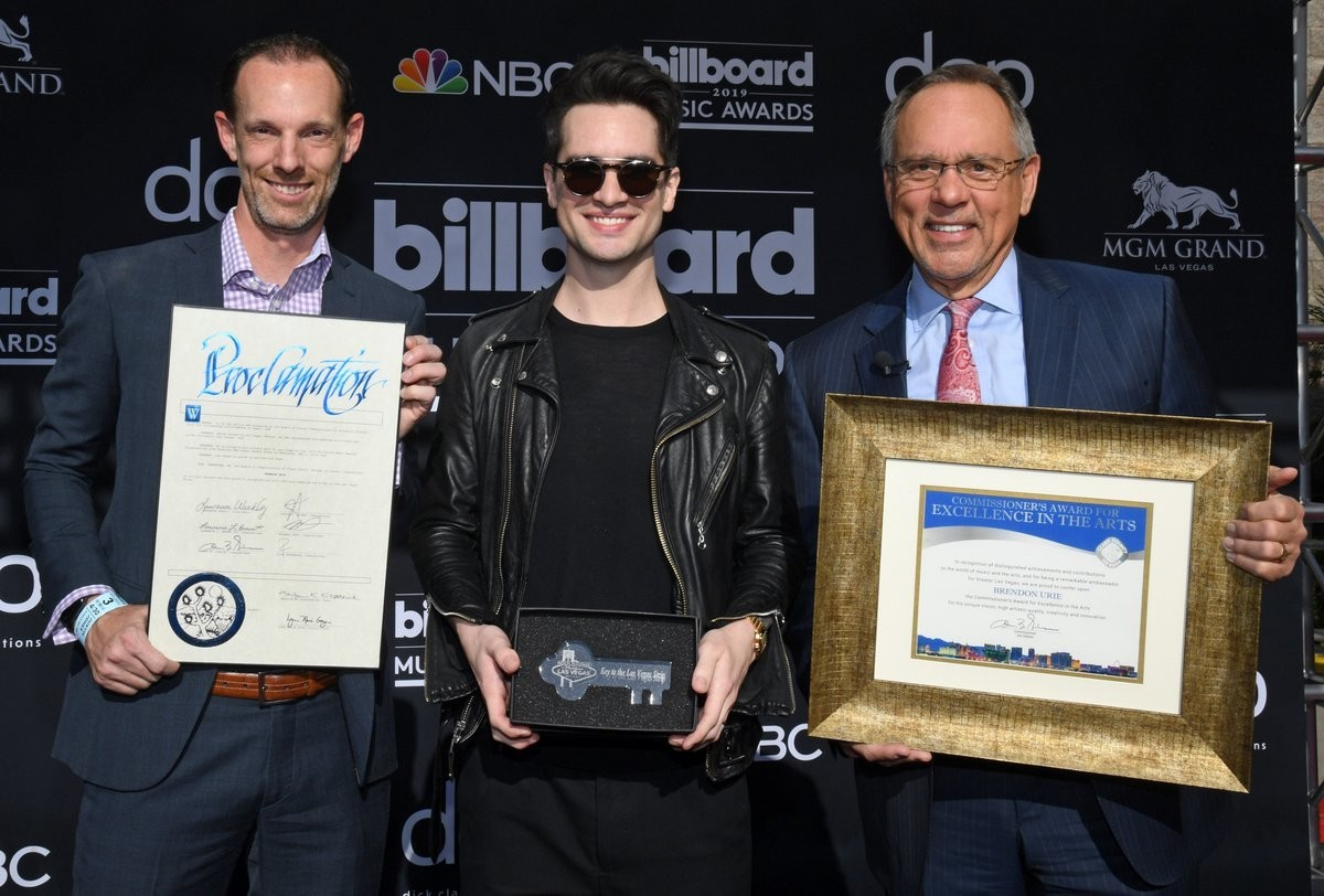 finest selection 3886d 47f5c Brendon Urie Has Been Awarded The Key To The City Of Las Vegas - News -  Rock Sound Magazine