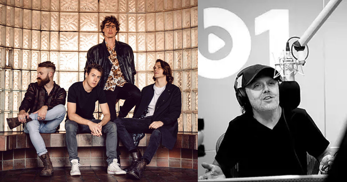 Surprise! Metallica's Lars Ulrich Features On Don Broco's Album