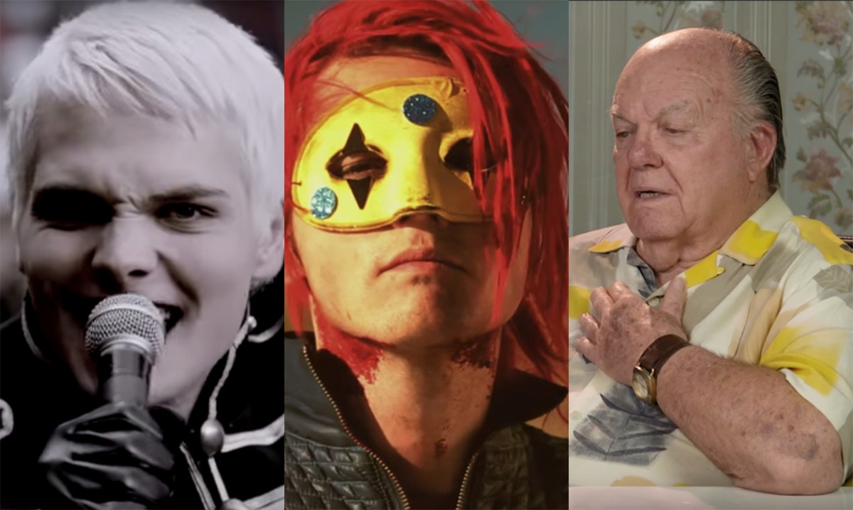 Watch Elders Reading And Reacting To My Chemical Romance S
