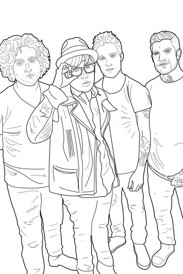 This Pop Punk Colouring Book Is Just The Greatest News