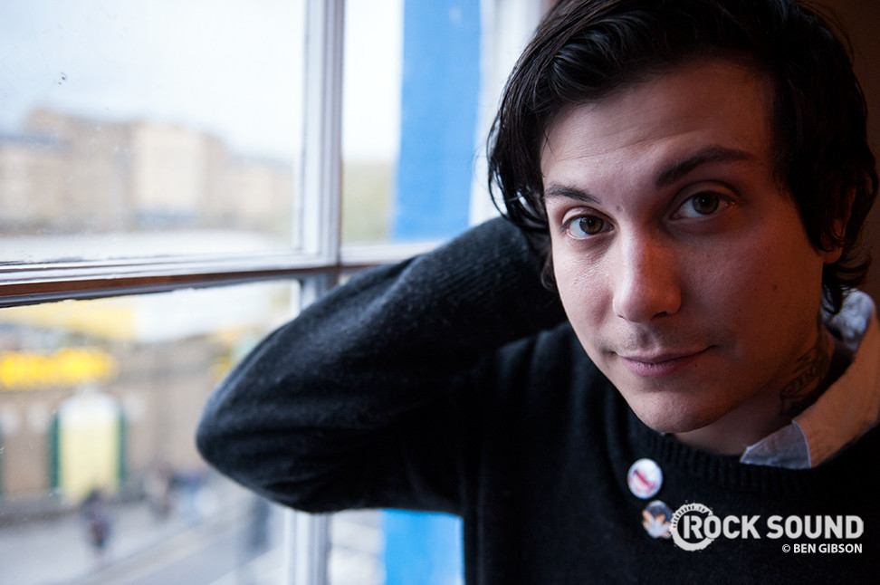 Frank Iero And The Patience Involved In Bus Crash