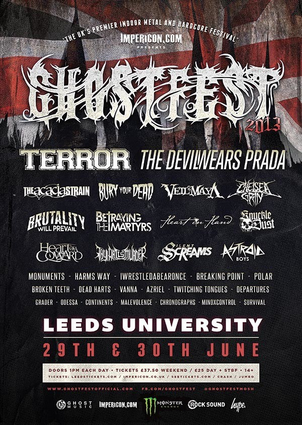 More Bands For Ghostfest 2013 News Rock Sound Magazine