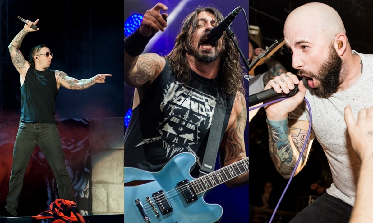 Avenged Sevenfold, Foo Fighters, August Burns Red & More