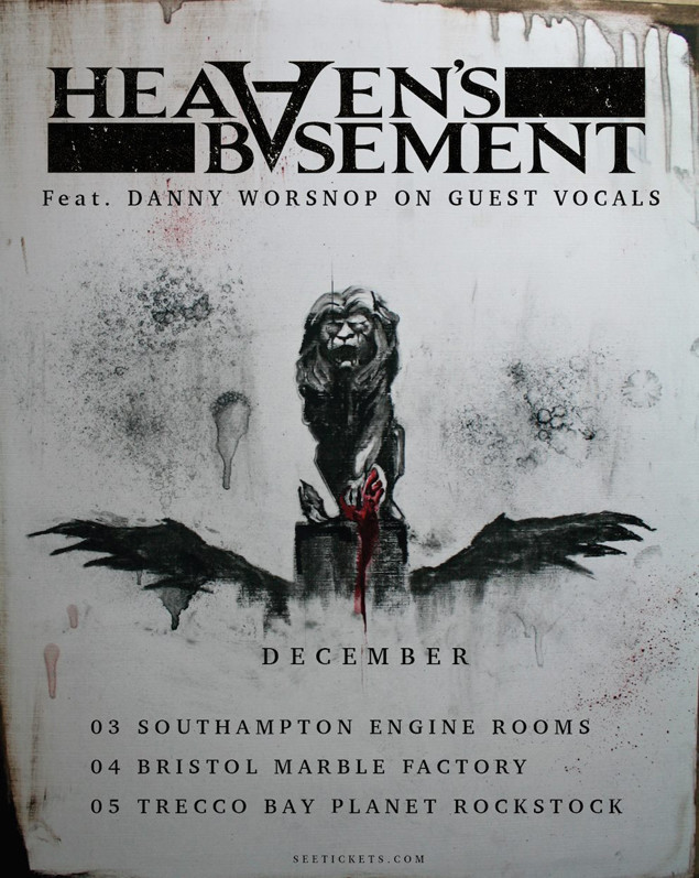 danny worsnop is in heaven s basement now for a few shows