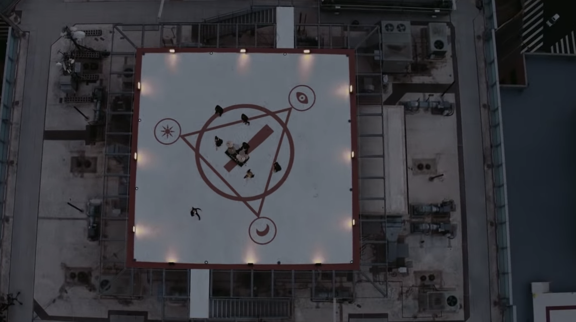 Some Legend Has Found The Building From Panic! At The Disco's 'high Hopes' Video Using Google Maps
