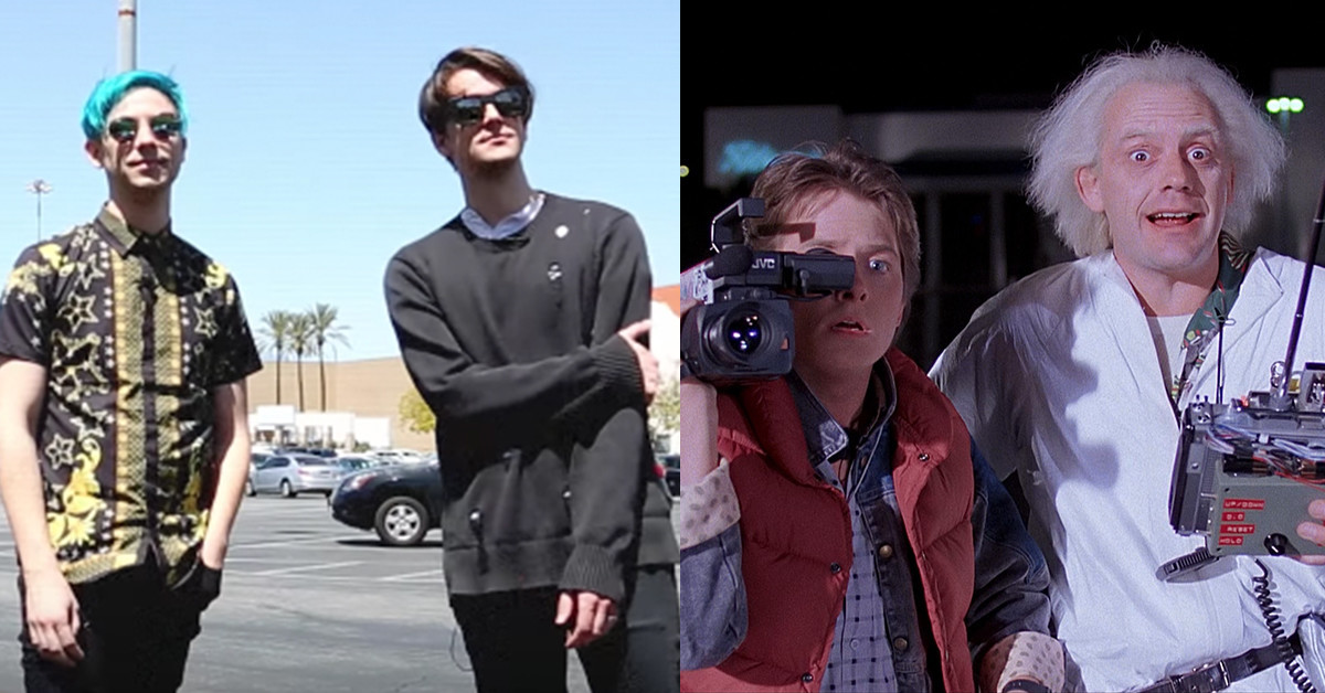 Watch IDK Recreate Famous 'Back To The Future' Scene In New
