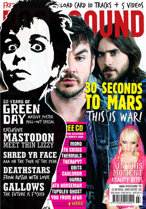 Issue 121 - April 09 | Magazine | Rock Sound