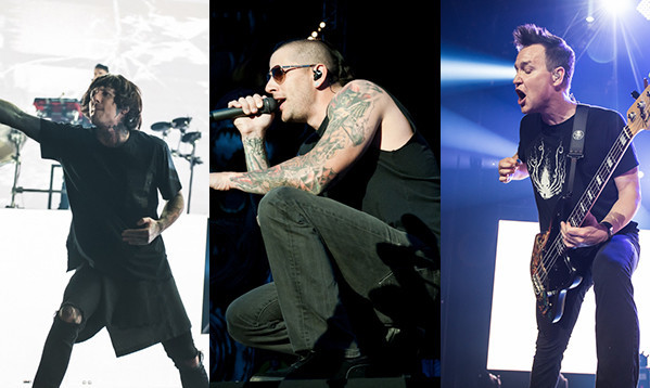 Oli Sykes, M. Shadows + Blink-182 Have Announced They're Playing The ...