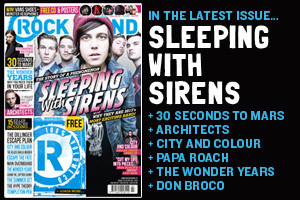 Rock Sound Magazine, Issue 175 - July 13 - Sleeping With Sirens, 30 Seconds To Mars, The Wonder Years, Architects and more...