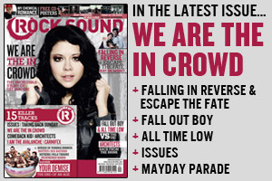 Rock Sound Magazine, Issue 185 - April 2014 - We Are The In Crowd, Falling In Reverse, Fall Out Boy, All Time Low, Architects & many more...