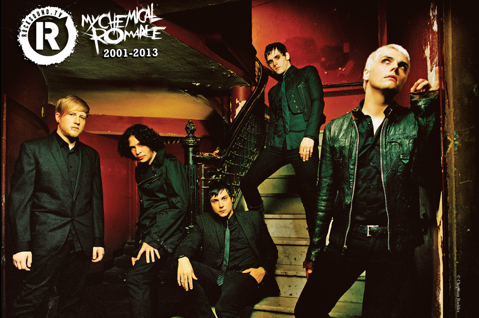 this is what my chemical romance have been up to since 2013