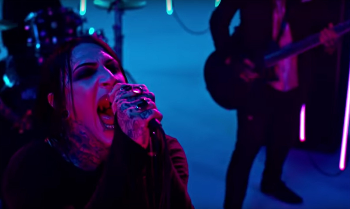 Motionless In White have released a bold, steamy new video for 'Eternally Yours'.