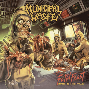 Municipal Waste - The Fatal Feast Cover