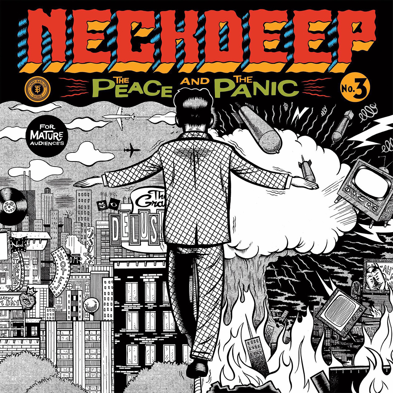 Po Neck Deep The Peace And The Panic Vinyl Collective