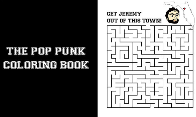 this pop punk colouring book is everything we dreamed it would be