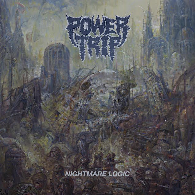 Power Trip - Nightmare Logic Cover
