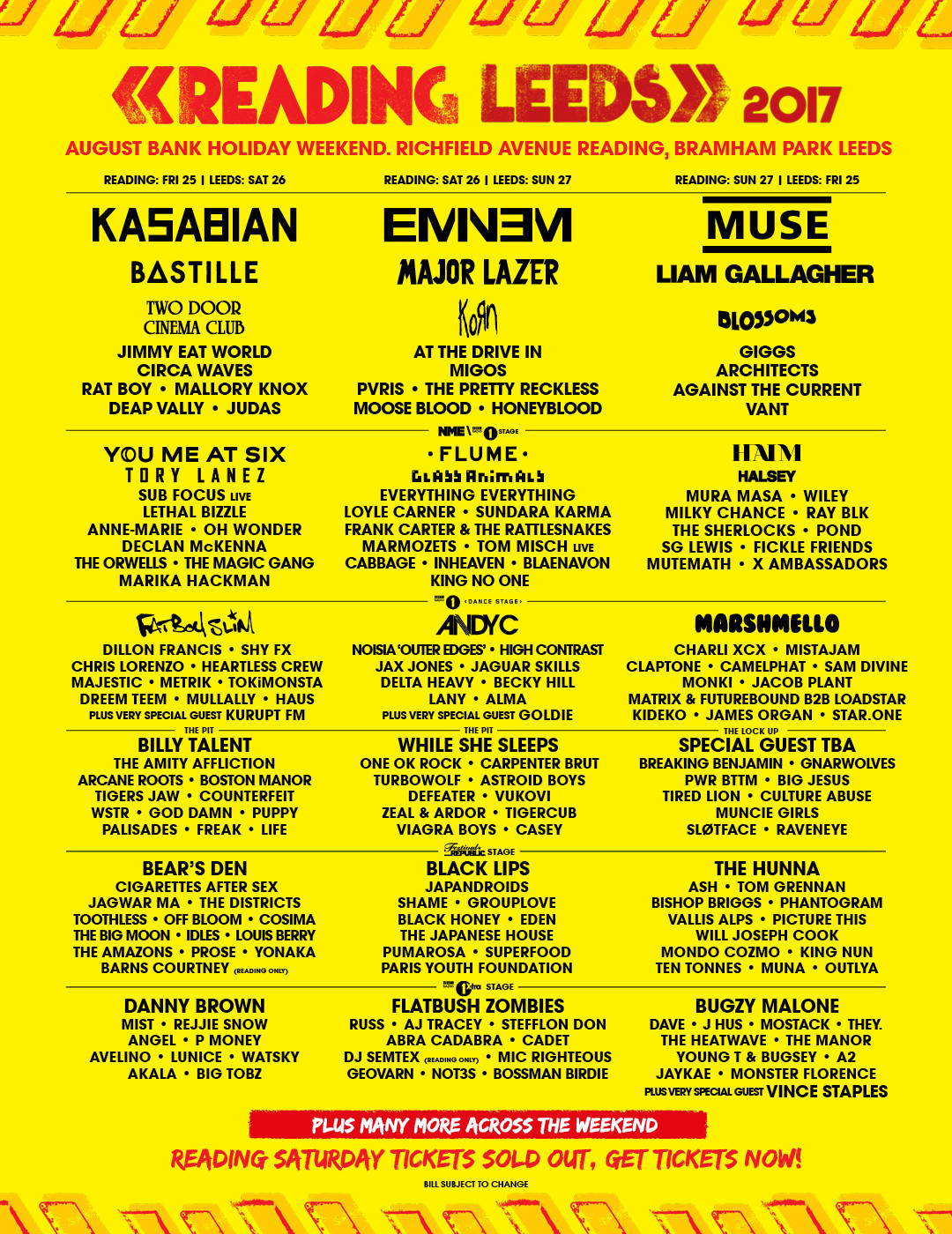 Leeds Festival? Liam's mad for it!