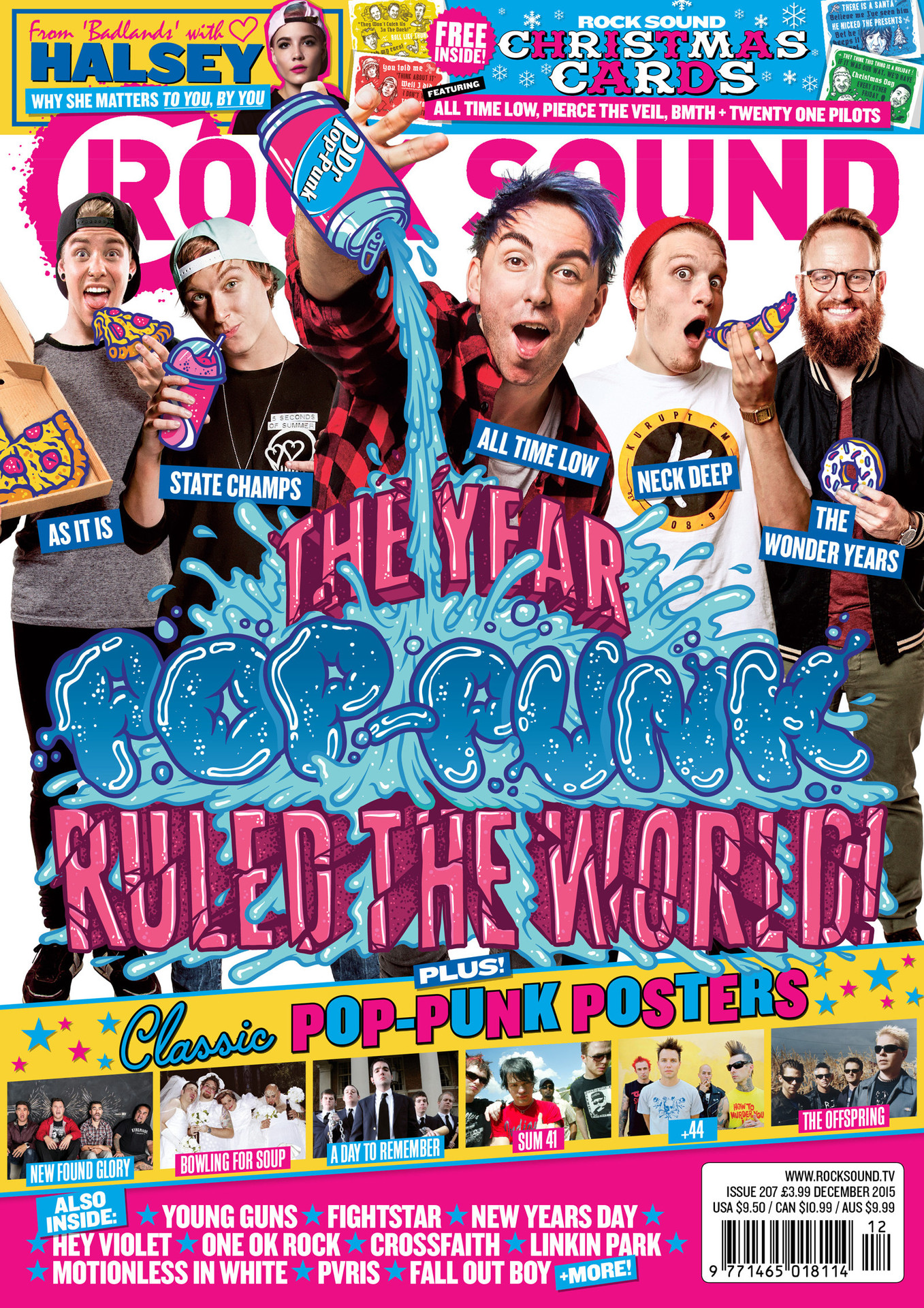 Here Are The 12 Days Of Pop-Punk Christmas - News - Rock Sound ...
