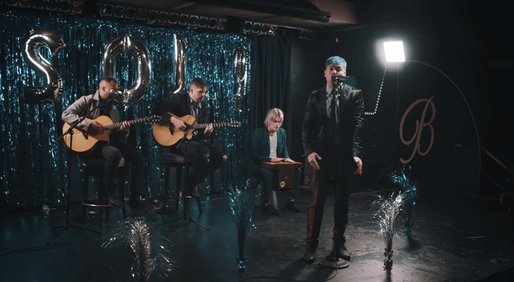 Watch Set It Off Give 'dancing With The Devil' The Acoustic Treatment