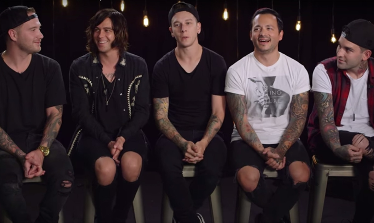 Sleeping with sirens share their tour stories news rock sound sleeping with sirens have shared some of their tour stories with setlist m4hsunfo Gallery