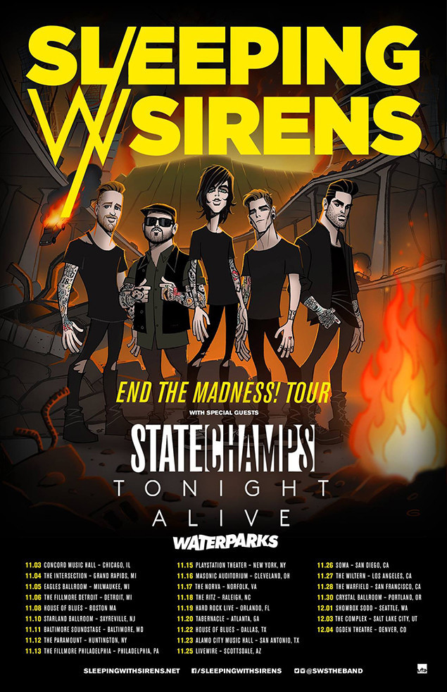 State Champs Tour Dates 2015 – State Champs Concert Dates and ...