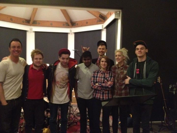 Patrick Stump In The Studio With The King Blues photo 1