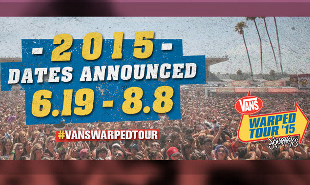 Warped Tour 2015: All The Dates Revealed