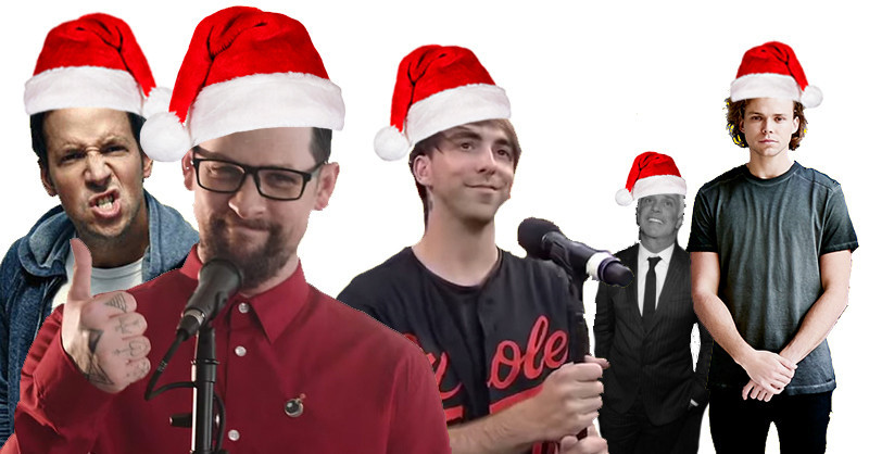 members of all time low good charlotte 5sos simple plan have recorded a christmas song news rock sound magazine - Simple Plan Christmas Song