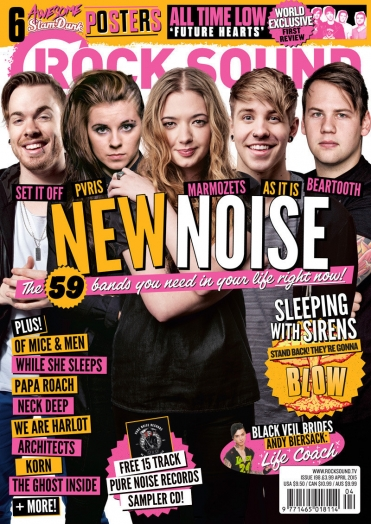 Rocksound - Issue 198 - April 2015