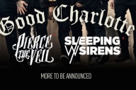 Pierce The Veil + Sleeping With Sirens To Support Good Charlotte