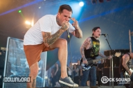 The Amity Affliction Are On Fire. No Really, They Are On Fire