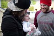 Watch Ben Bruce Take His Daughter To Her First Asking Alexandria Show