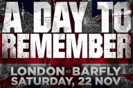 Want To See A Day To Remember Play A Tiny Venue In London Tomorrow?