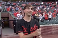 Watch Alex Gaskarth Sing The US National Anthem At A Baseball Game