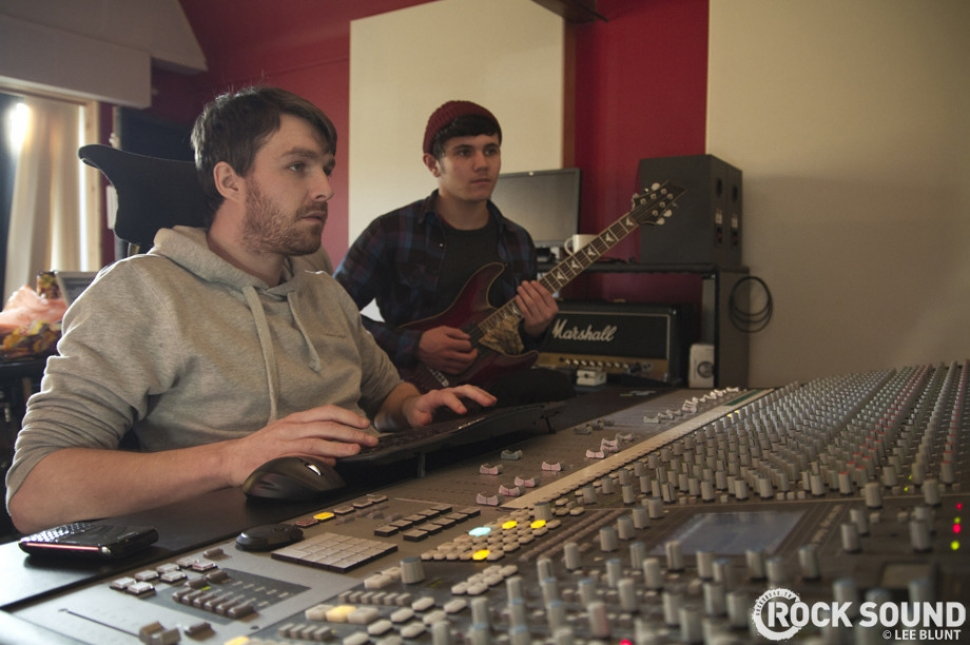 In The Studio With Bury Tomorrow